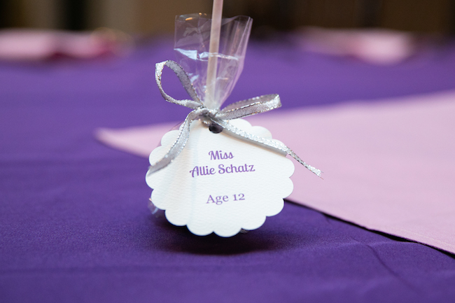 Allie's Purple & Silver Bat Mitzvah Party