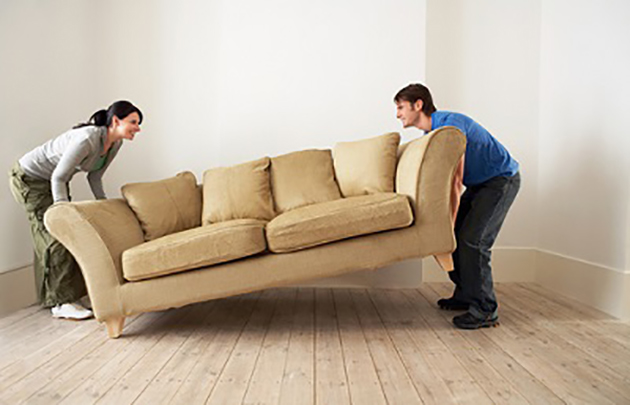 tips for moving heavy furniture