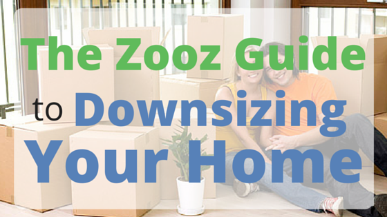 Zooz Moving Guide to Downsizing Your Home