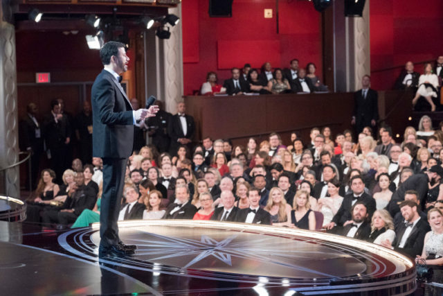 Jimmy Kimmel with audience