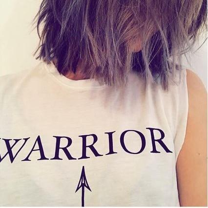 warrior tee shirt