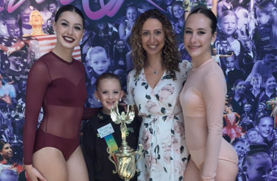 THIRTY-TWO LOCAL DANCERS made their way to Virginia Beach last week as they competed in StarQuest 2017 World Finals. Several dancers impressed south of the border with contemporary dance duo Samantha Clark (right) and Honour Stahl (left) placed first overall in the Quest for the Best contest, while seven-year-old Ella Godfrey (second left) finished fifth in the solo Quest for the Best contest. The trio pose for a photo alongside Citrus Dance Director and Owner Cecile Thomas (second right)