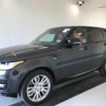 2015 Range Rover Sport SC, black, 4 door