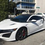 2017 Acura NSX, white, 2 door