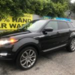 2015 Land Rover Evoque, 4 doors, black