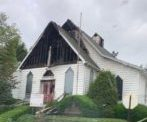 Evans City Church Damaged By Fire