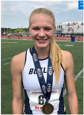 Butler runner Simms caps career with school record