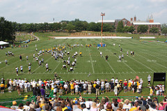 Steelers return to practice field today