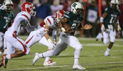 PSAC honors two SRU players/The Rock drops a spot in national poll