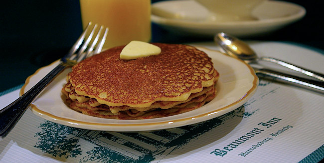 Corn meal cakes