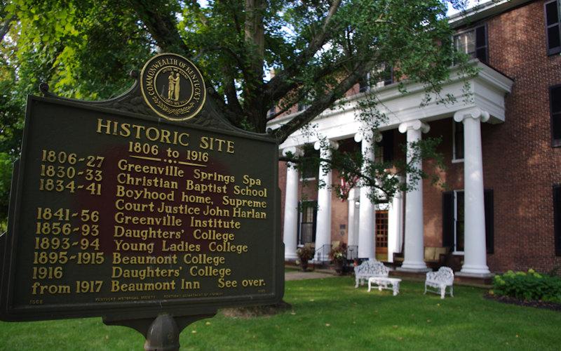 Historic Beaumont Inn