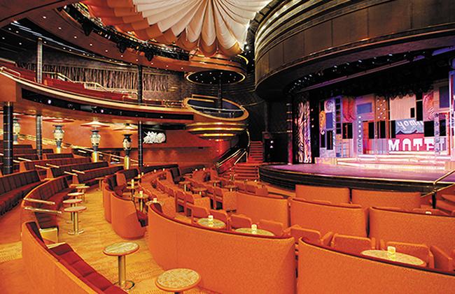 The Vista Lounge Theatre. Photo: Holland America Line