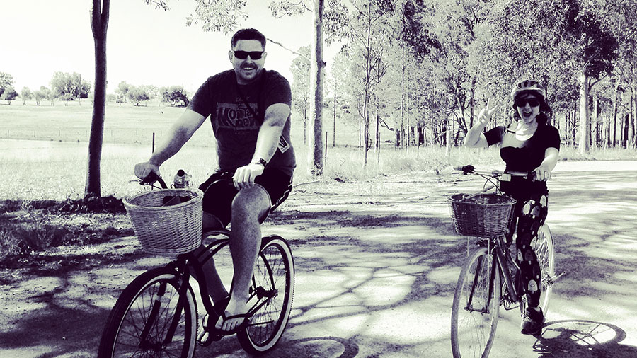 Cycling in the Hunter Valley