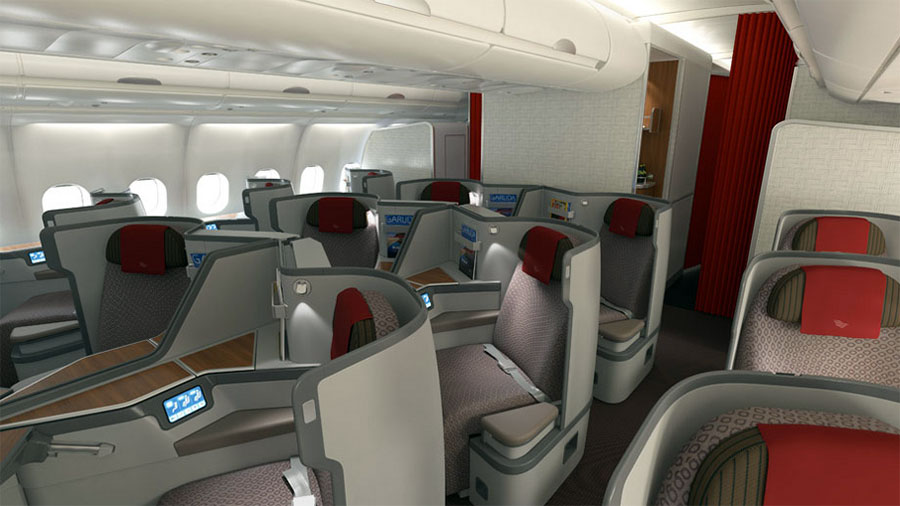 Garuda Indonesia Airbus A330-300 International Business Class