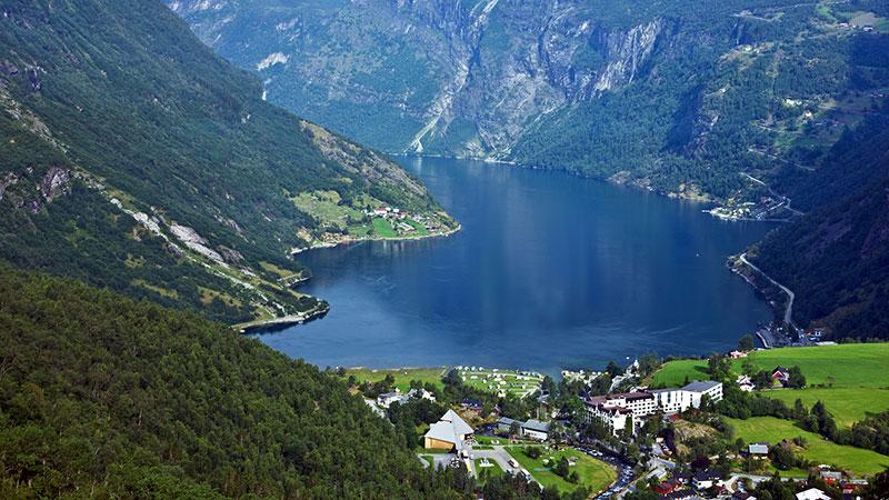 Geirangerfjord, Norway