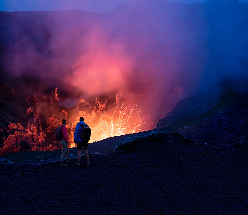 Mount Yasur, Vanuatu. Supplied.