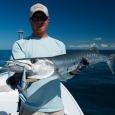 Capt. Colin Barr with a nice barracuda.