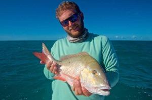 A nice Key West mutton snapper