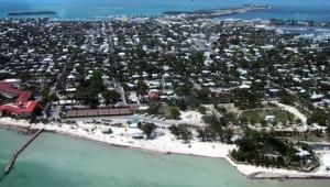 Key West aerial view