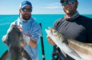 Capt. Kyles with their cobia