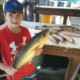 Yellow Jack caught by a young angler.