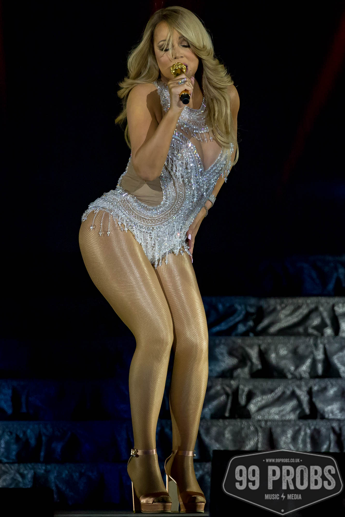 Press Photography Norwich. Mariah Carey