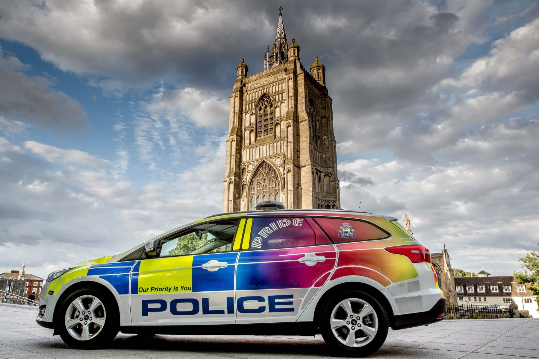 Norfolk Police launch Pride car to tackle hate crime