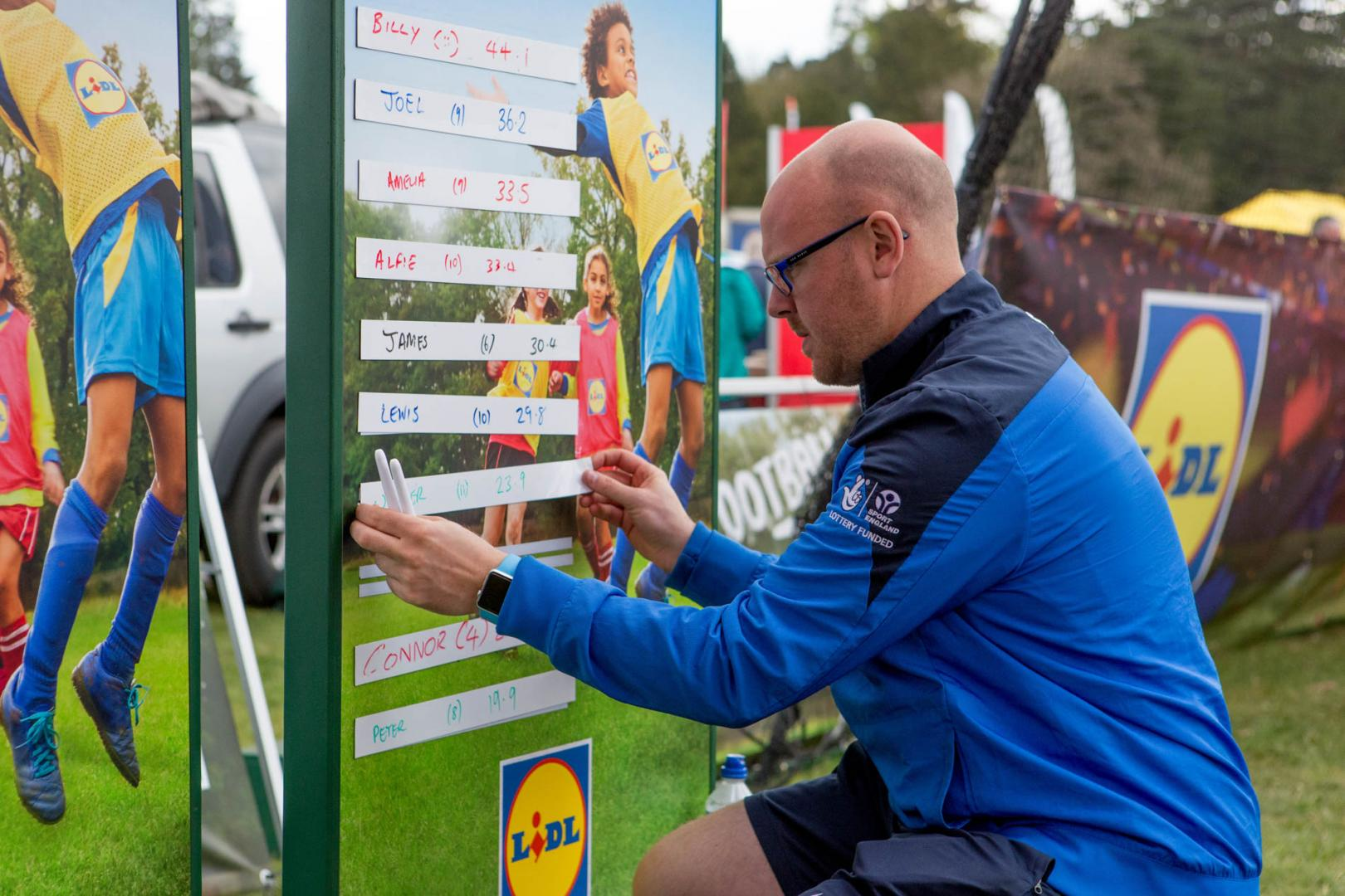 Editorial Photography for Lidl Football Zone