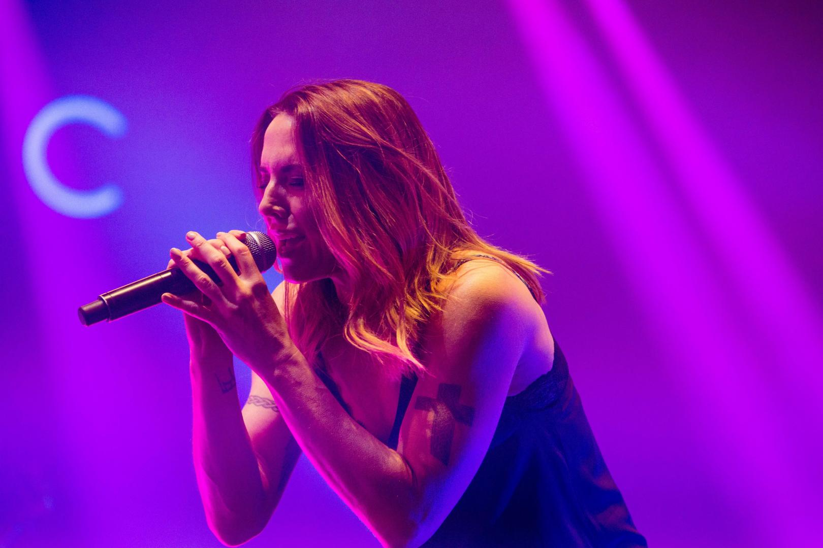 Mel C performs at Isle of Wight Festival 2017