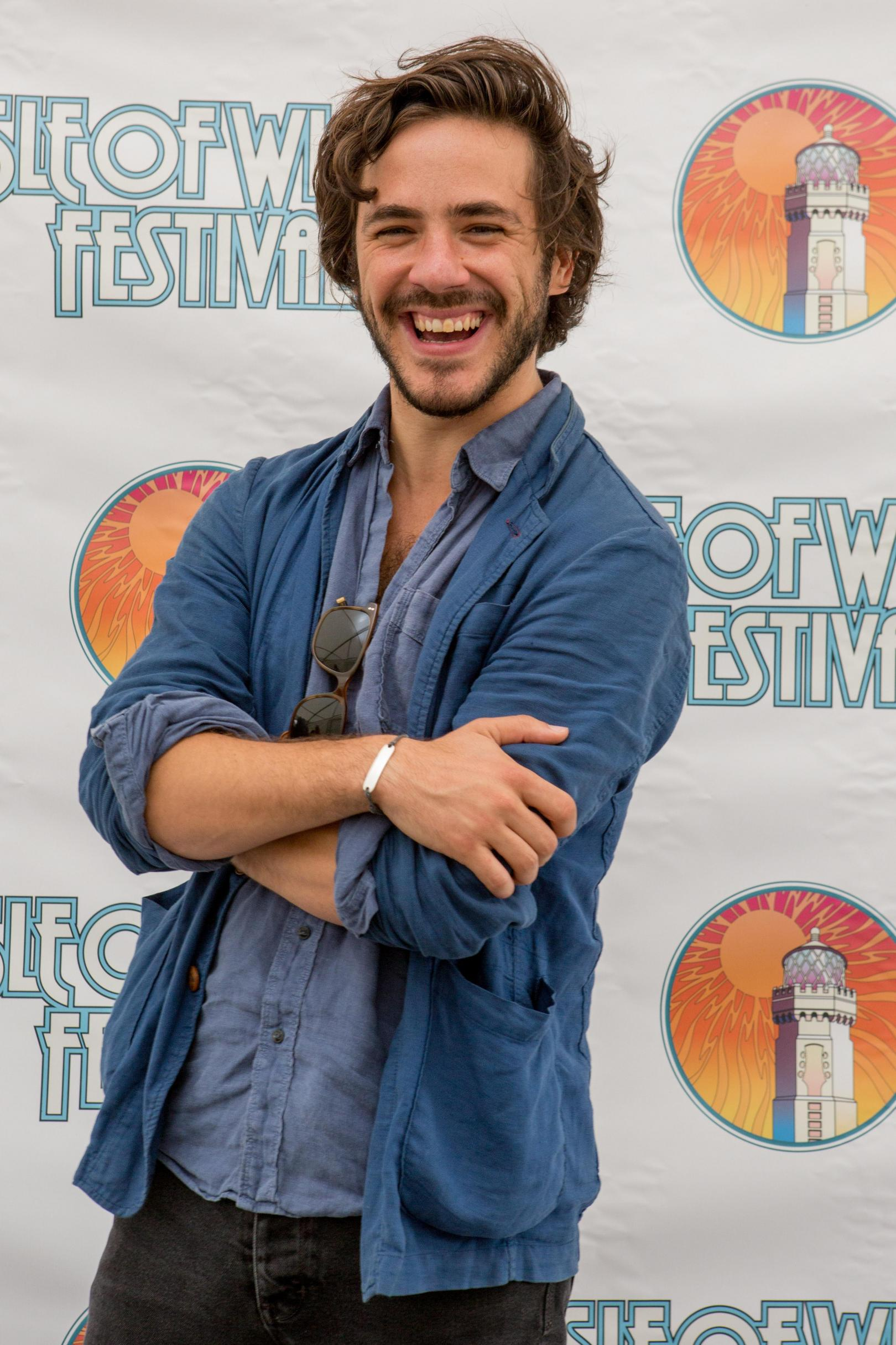 Jack Savoretti at Isle of Wight Festival
