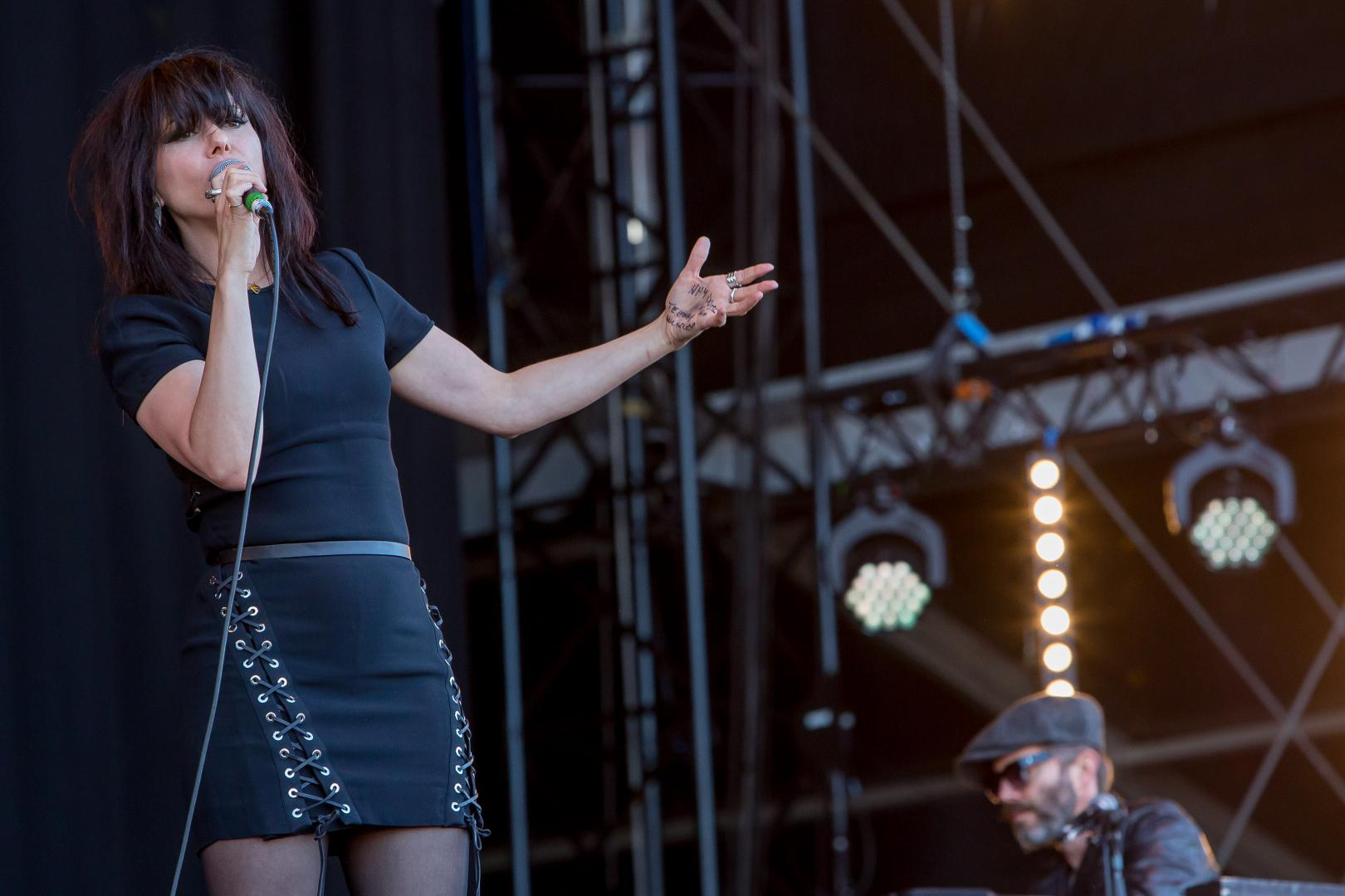 Imelda May at Isle of Wight Festival