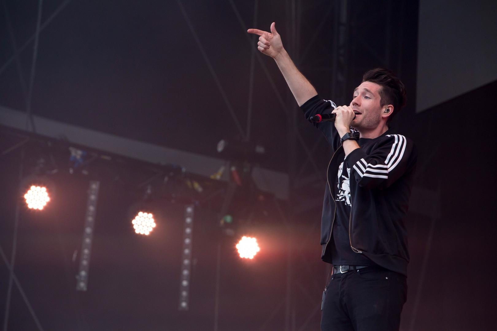 Bastile on stage at Isle of Wight