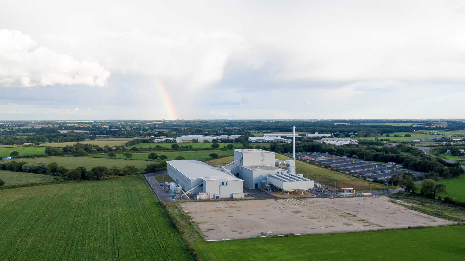 Snetterton Biomass Power Plant