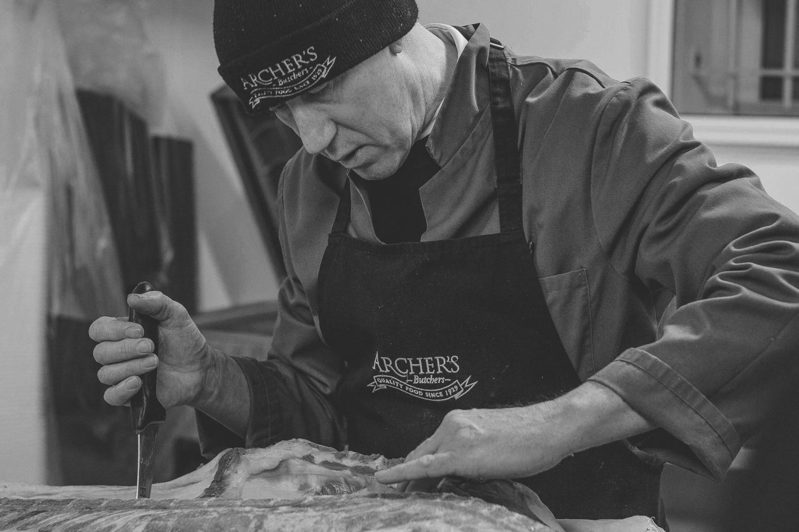 Commercial Photography Norwich - Archer's Butchers