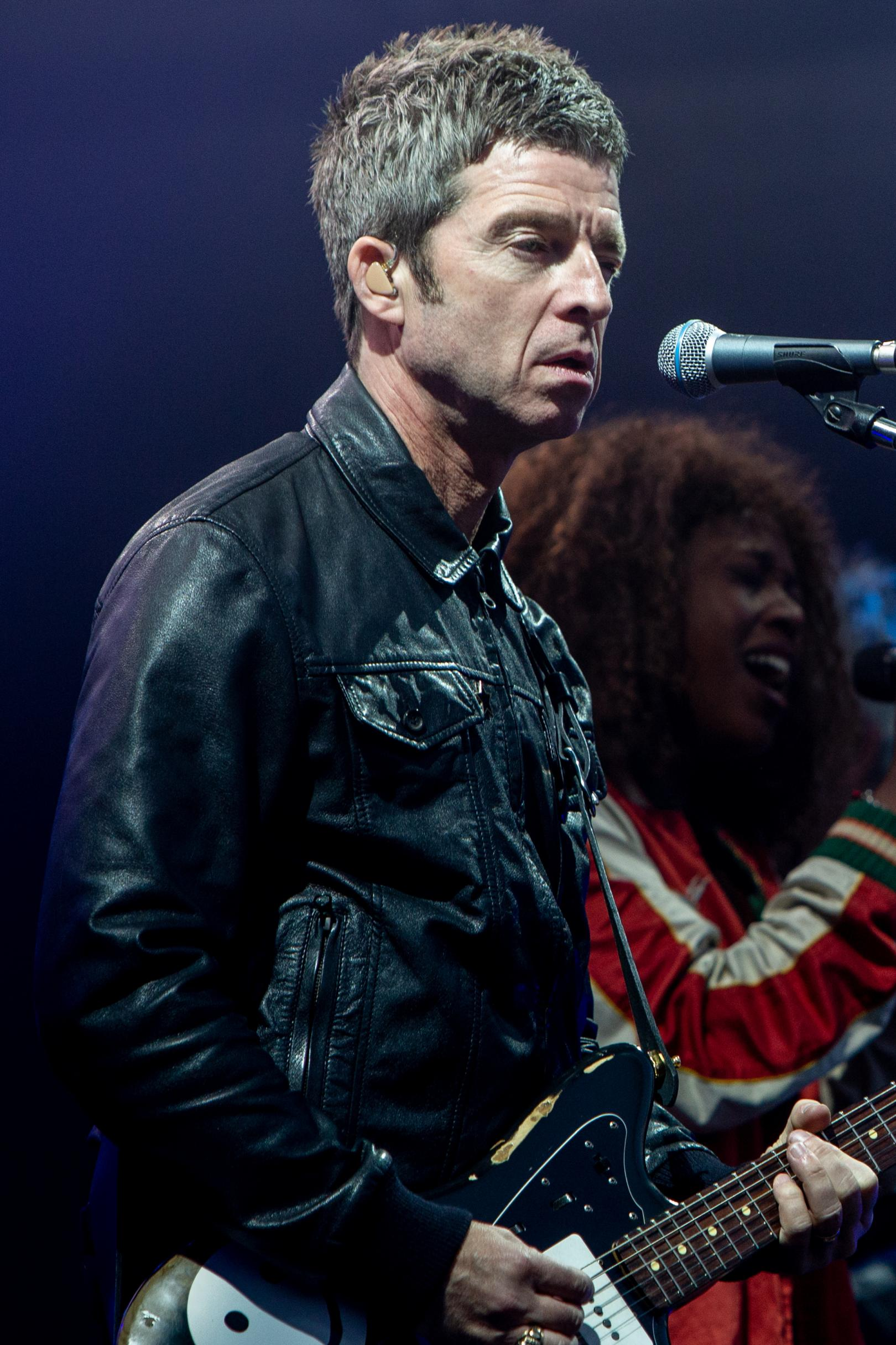 Noel Gallagher Concert Photography
