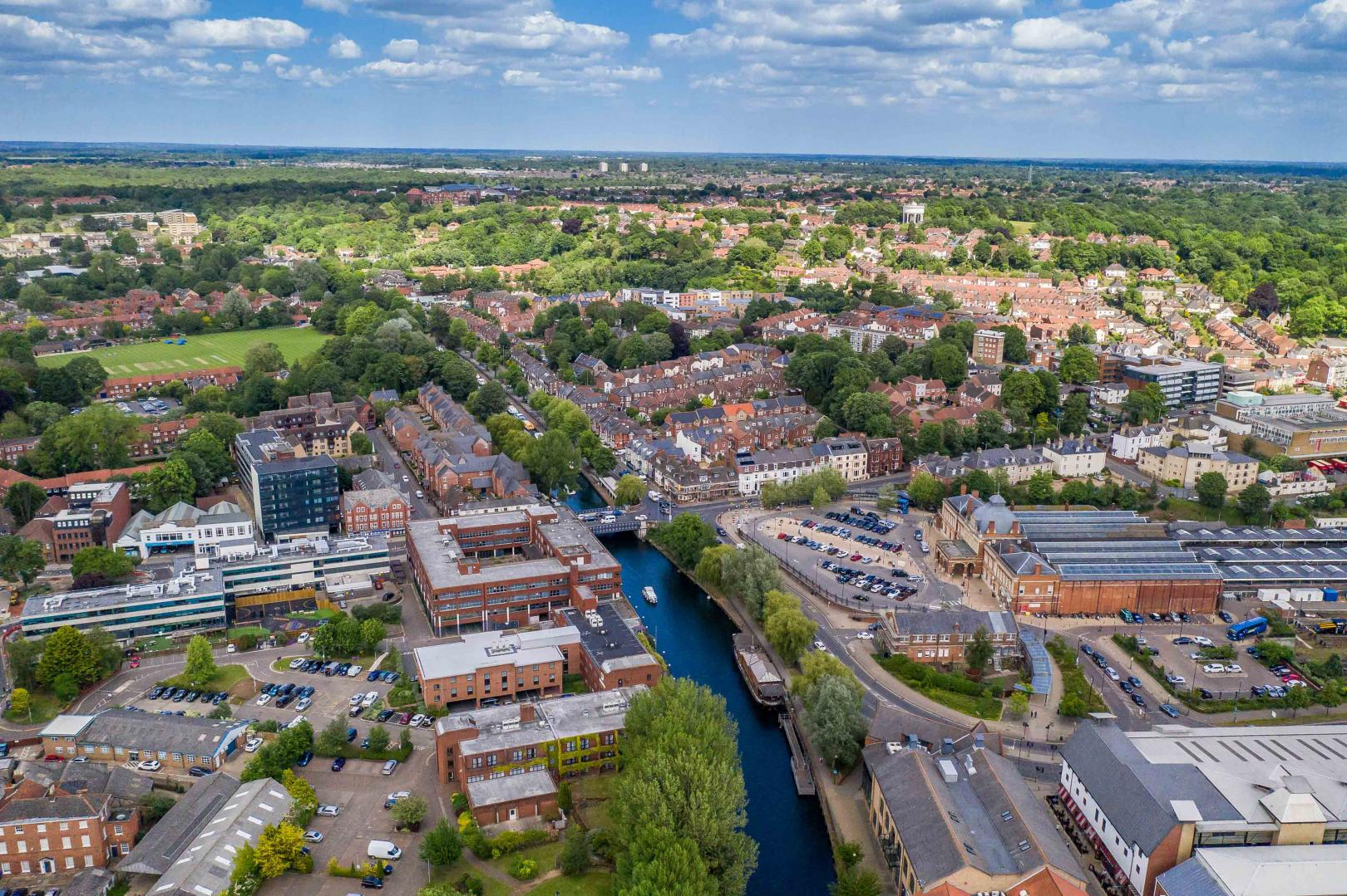 Urban Drone Photography Norfolk