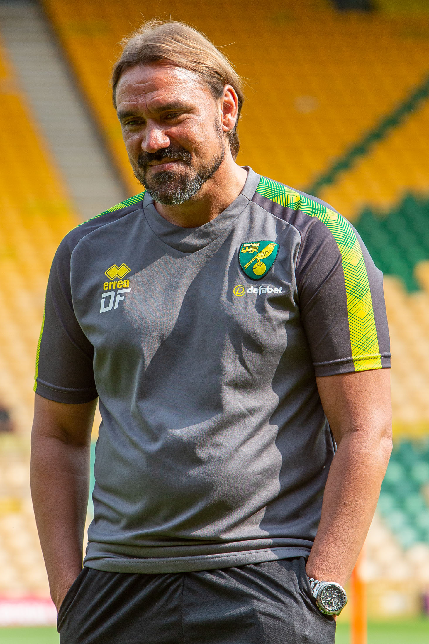 Daniel Farke NCFC Press Photography