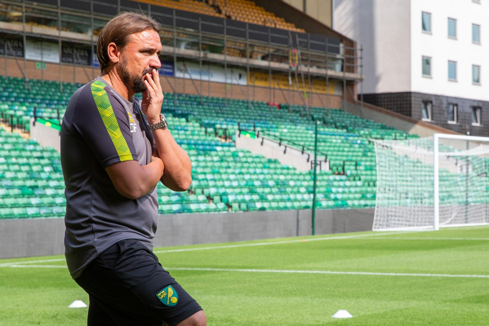 Norwich City Football Team Press Photography
