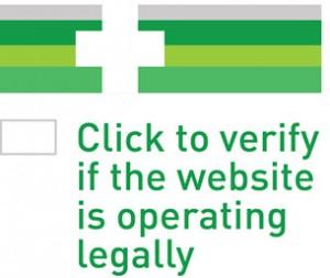 EU online pharmacy logo
