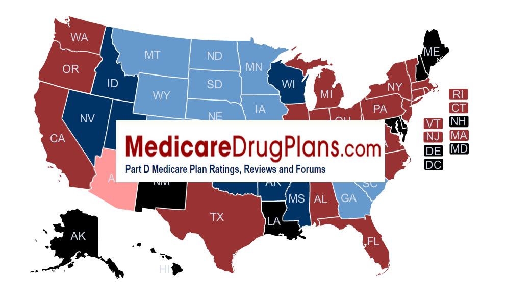 MedicareDrugPlans.com Part D Medicare Ratings, Reviews and Forums