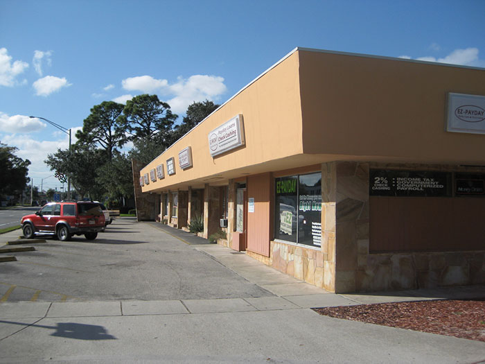 Vero Beach Strip Mall
