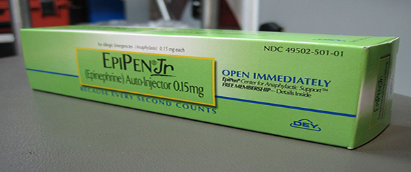 The price of the lifesaving injection Epinephrine, which is prescribed for people with serious allergies, is out of control, surging by 480% . . The lowest price for two injections at a PharmacyChecker.com-approved online pharmacy is just over $200.