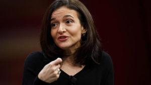 Sheryl Sandberg testimony