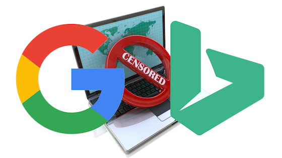 Do Google & Bing censor online pharmacy search results? Pharmaceutical companies have called for censorship.