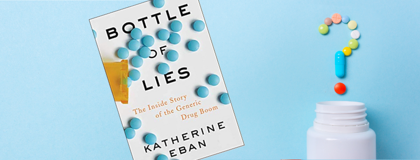 'Bottle of Lies' Author Katherine Eban: Dispense as Written