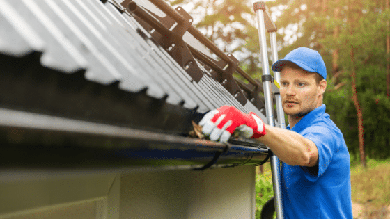 Rain Gutters: Spring Cleaning after Winter
