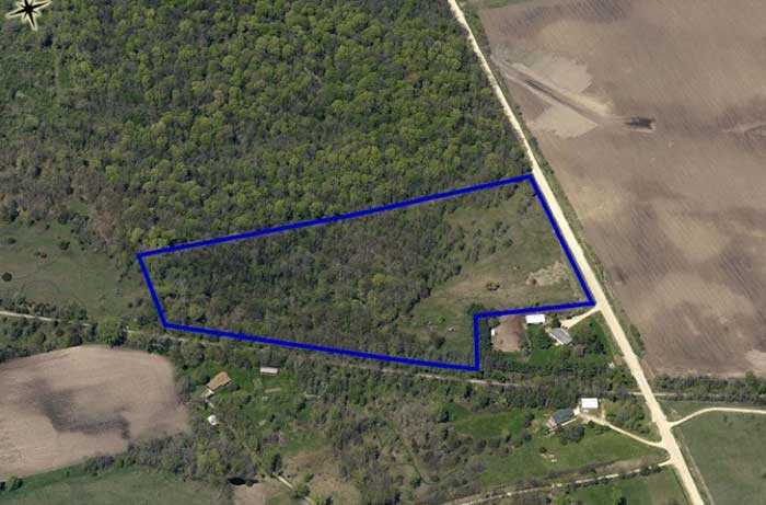16 Acres Buildable Lot   Bremer County, Iowa