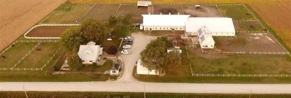 Impressive Iowa Horse Acreage For Sale | Equestrian Boarding and Training Center