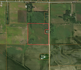 38 Acres Butler County | Iowa Farm Land For Sale | Huff Land Company