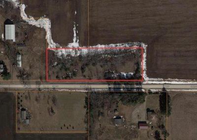 2.6 Acre Bulding Site For Sale | 180th Plainfield, Iowa | Huff Land Co.